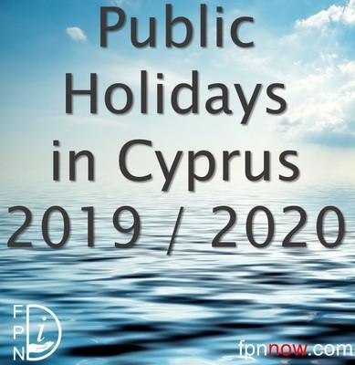 Public holidays cyprus 2020
